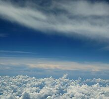 Sky Over Florida From The Plane by ImogenC