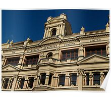 Historic Building -Brisbane Poster