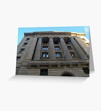 Historic Building -Brisbane #2 Greeting Card