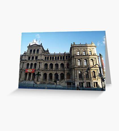 Historic Building -Brisbane #4 Greeting Card