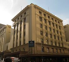 Anzac Square Building - Edward St.  by A.David Holloway