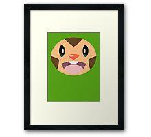 Pokemon - Chespin / Harimaron Framed Print