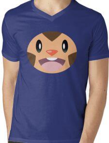 Pokemon - Chespin / Harimaron Mens V-Neck T-Shirt