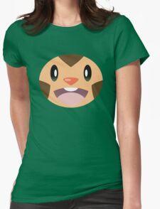 Pokemon - Chespin / Harimaron Womens Fitted T-Shirt