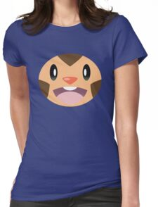 Pokemon - Chespin / Harimaron Womens Fitted T-Shirt