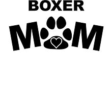 Boxer Mom by GiftIdea
