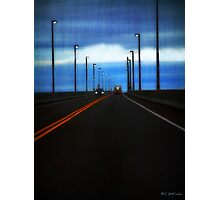 Two-Lane Blacktop Photographic Print