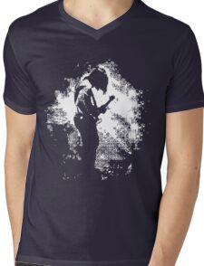 LONELY ARTIST Mens V-Neck T-Shirt