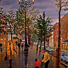 Irish Street Scene by Daniel Fishback