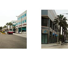Wilshire Boulevard + 9th Street, Santa Monica, California, USA...narrowed. by David Yoon