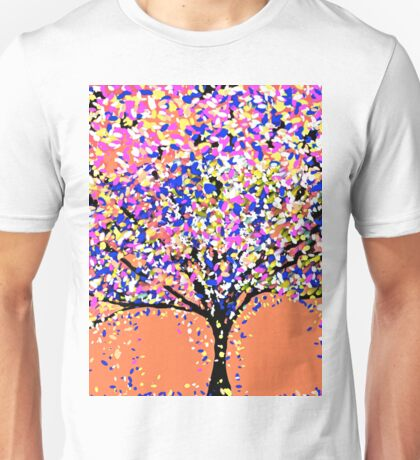 Trees Oil Painting Unisex T-Shirt