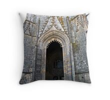 """ The Highest Church Door"" Throw Pillow"