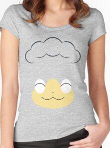 Pokemon - Panpour / Hiyappu Women's Fitted Scoop T-Shirt