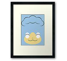 Pokemon - Panpour / Hiyappu Framed Print