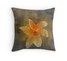 Struggling To Stay Beautiful Throw Pillow