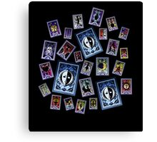 Persona Cards Scatter! Canvas Print