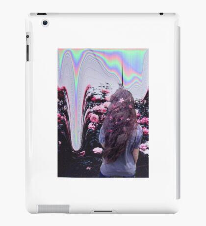 Rose Psychedelic Grunge Print iPad Case/Skin