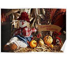 Harvest Blessings Poster