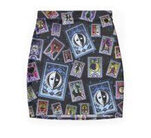 Persona Cards Scatter - Stars Pencil Skirt