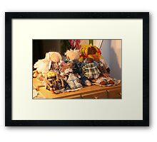 The Dolls Story... Framed Print