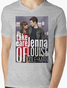 Take Care Of Jenna Mens V-Neck T-Shirt