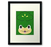 Pokemon - Pansage / Yanappu Framed Print