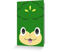Pokemon - Pansage / Yanappu Greeting Card