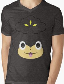 Pokemon - Pansage / Yanappu Mens V-Neck T-Shirt