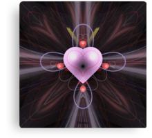 'Heart-In-Heart' Canvas Print