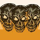 The 3 Skulls  by stitchgrin