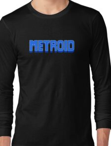 NES Metroid Title  Long Sleeve T-Shirt