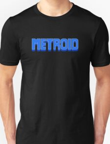NES Metroid Title  T-Shirt