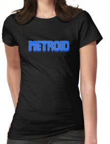 NES Metroid Title  Womens Fitted T-Shirt