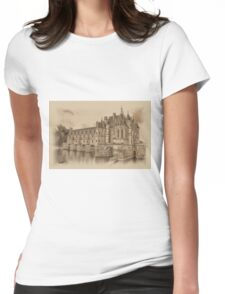 Chateau de Chenonceau Womens Fitted T-Shirt