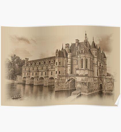 Chateau de Chenonceau Poster