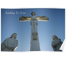 Looking Unto Jesus Poster
