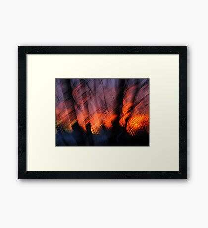 Light Up Your Skies Framed Print