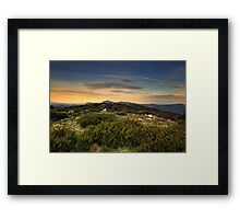 High Country Evening Framed Print