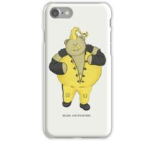 BEARS and FIGHTERS - Rufus iPhone Case/Skin