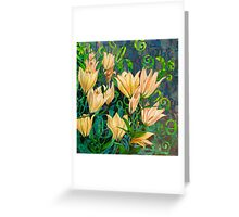 Goblets of Light Greeting Card