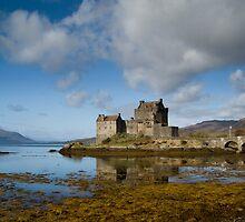 Eilean Donan Castle by Claire Tennant