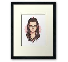 Cosima Bust Framed Print