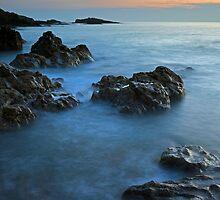 Dunure seascape by Grant Glendinning