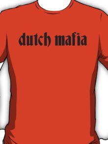 Drifter Threads: Dutch Mafia Black T-Shirt