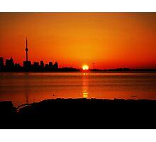 Sunrise Lakeshore (serie VIII)!... Photographic Print