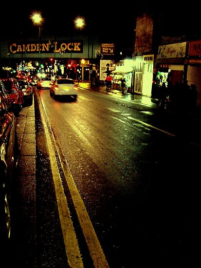 Camden Lock by Mojca Savicki