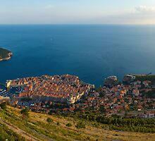 Panorama of Dubrovnik by Ivan Coric