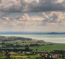 a stunning Hungary landscape Sticker