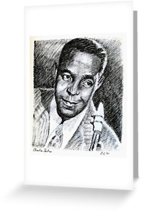 Jazz Portraits-Charlie Parker by Francesca Romana Brogani