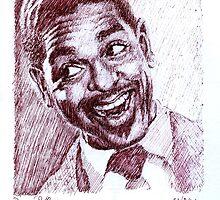 Jazz Portraits-Dizzy Gillespie by Francesca Romana Brogani